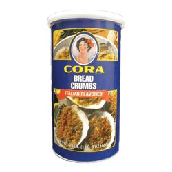 Bread Crumbs, Grated Cheese & Garlic